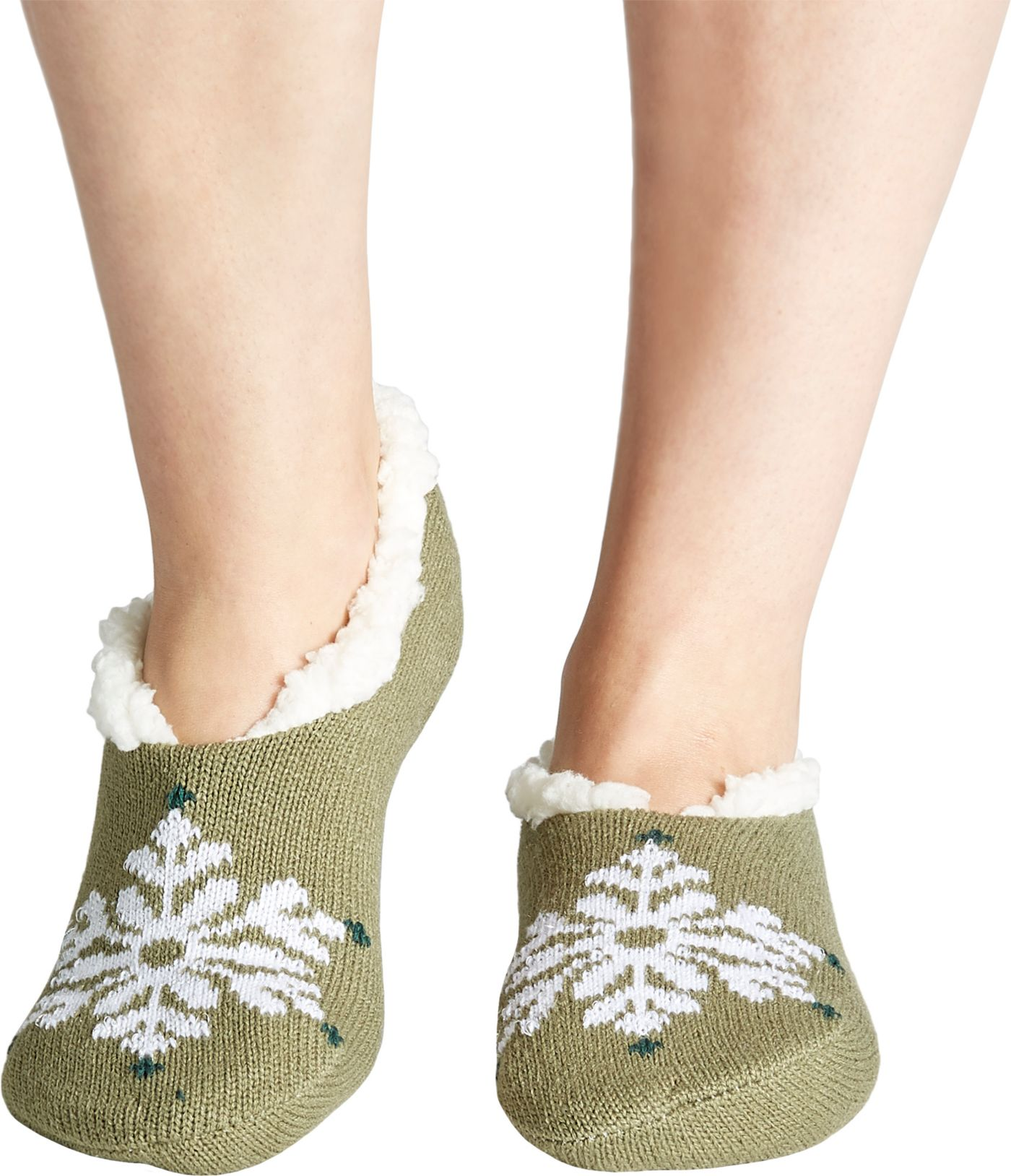 Field & Stream Women's Cozy Cabin Snowflake Slipper Socks