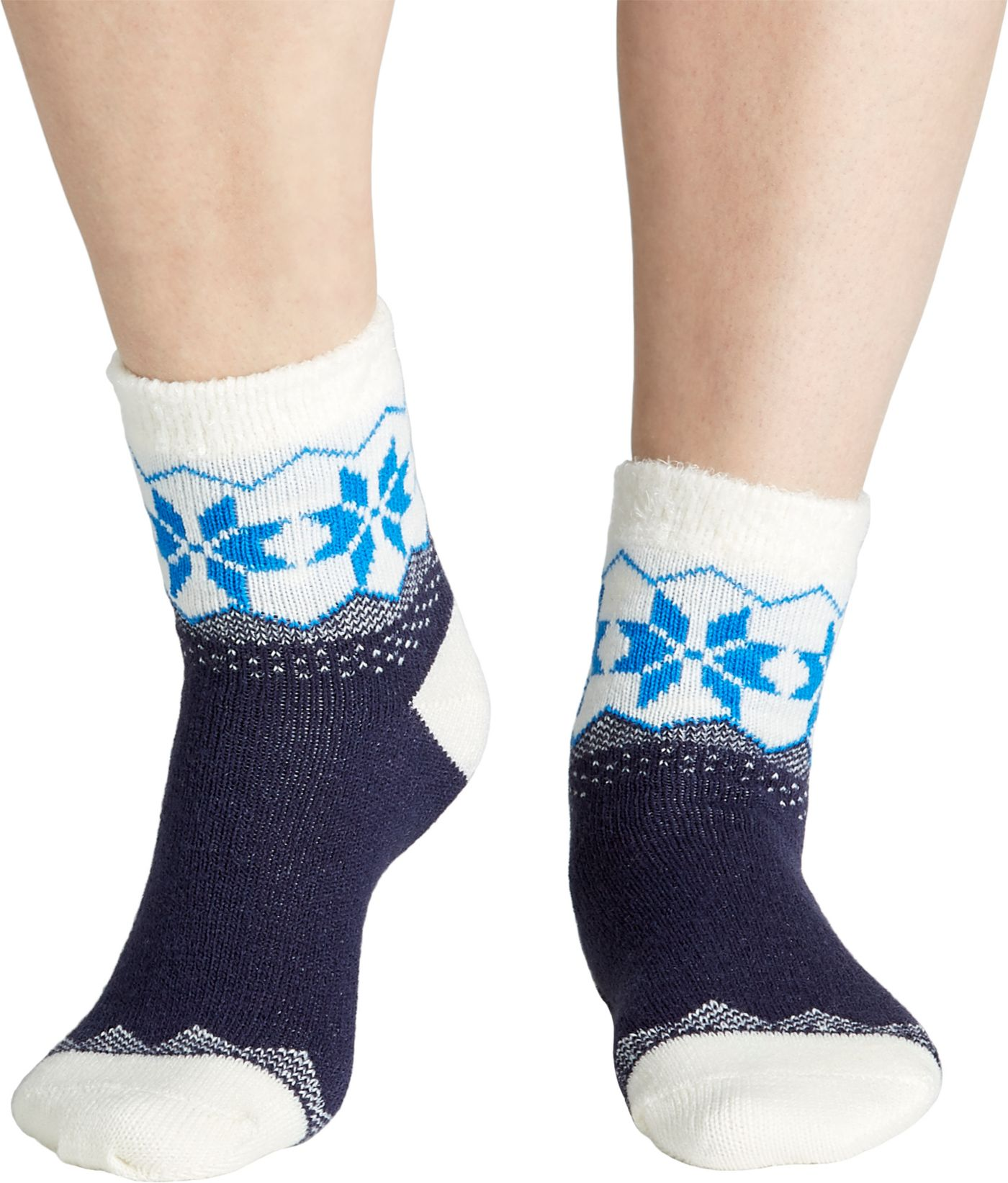 Field & Stream Women's Cozy Snowflake Cuff Socks
