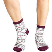 Field & Stream Women's Snowflake Nordic Cozy Cabin Crew Socks