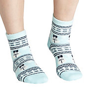 Field & Stream Women's Cozy Cabin Snowman Nordic Socks