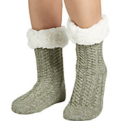 Field & Stream Women's Cozy Cabin Tall Braid Socks