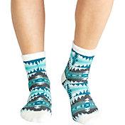 Field & Stream Women's Aztec Cozy Cabin Crew Socks
