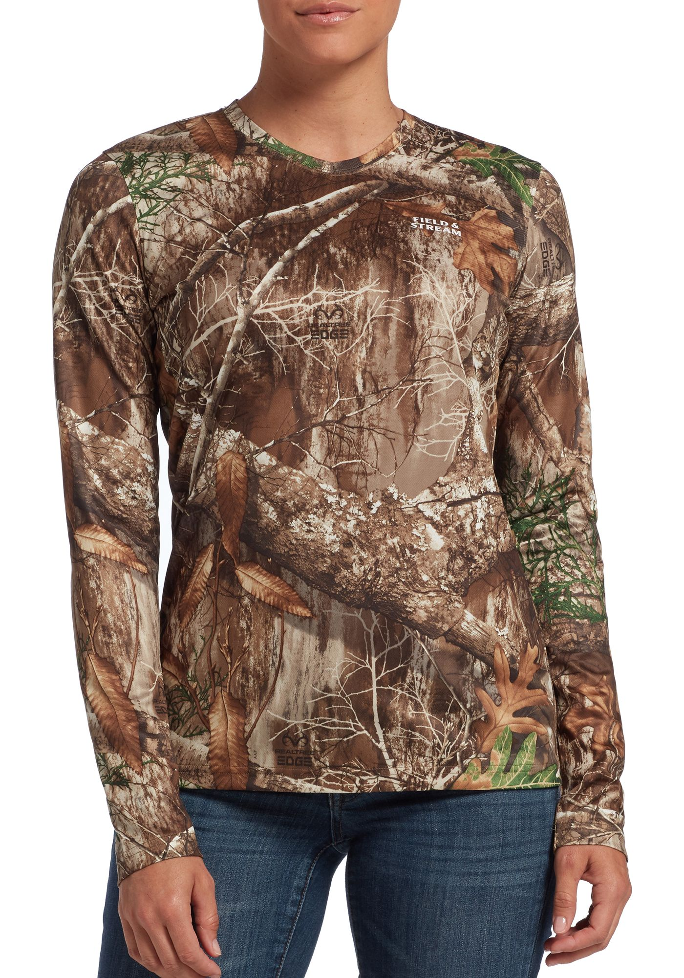 Field & Stream Women's Long Sleeve Performance Tech Hunting T-Shirt