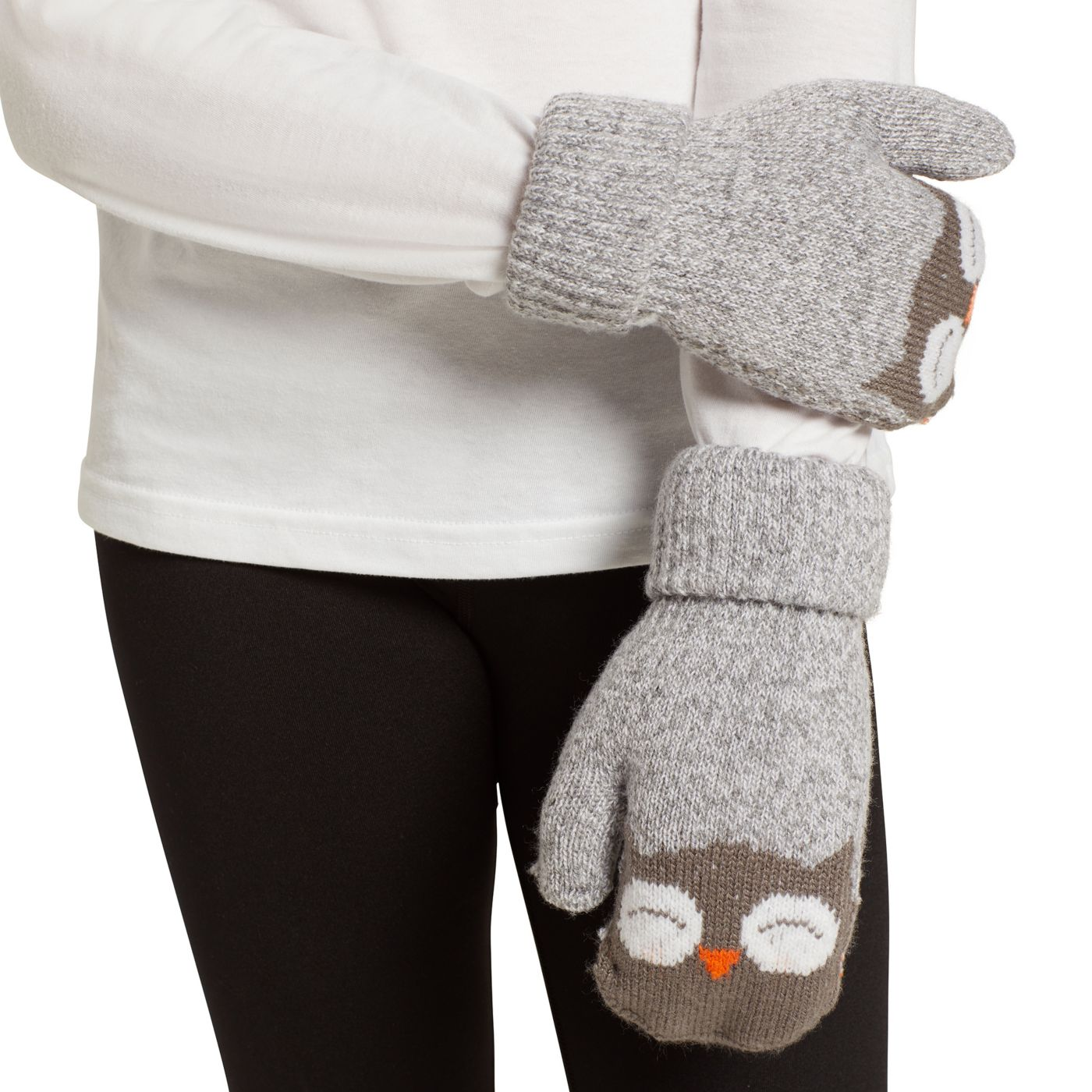Field & Stream Youth Cabin Acc Owl Mittens