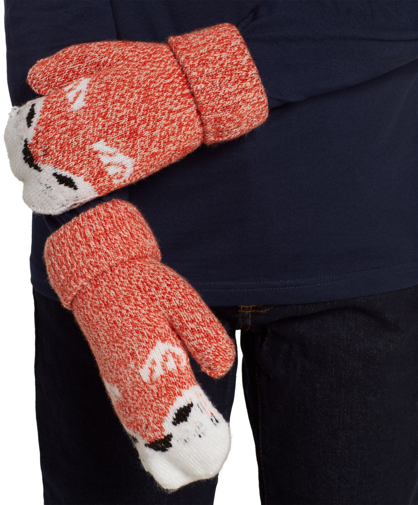 Field & Stream Youth Cabin Fox Mittens