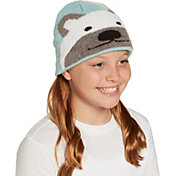 Field & Stream Youth Cabin Polar Bear Beanie