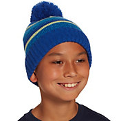 Field & Stream Boys' Cabin Stripe Pom Beanie