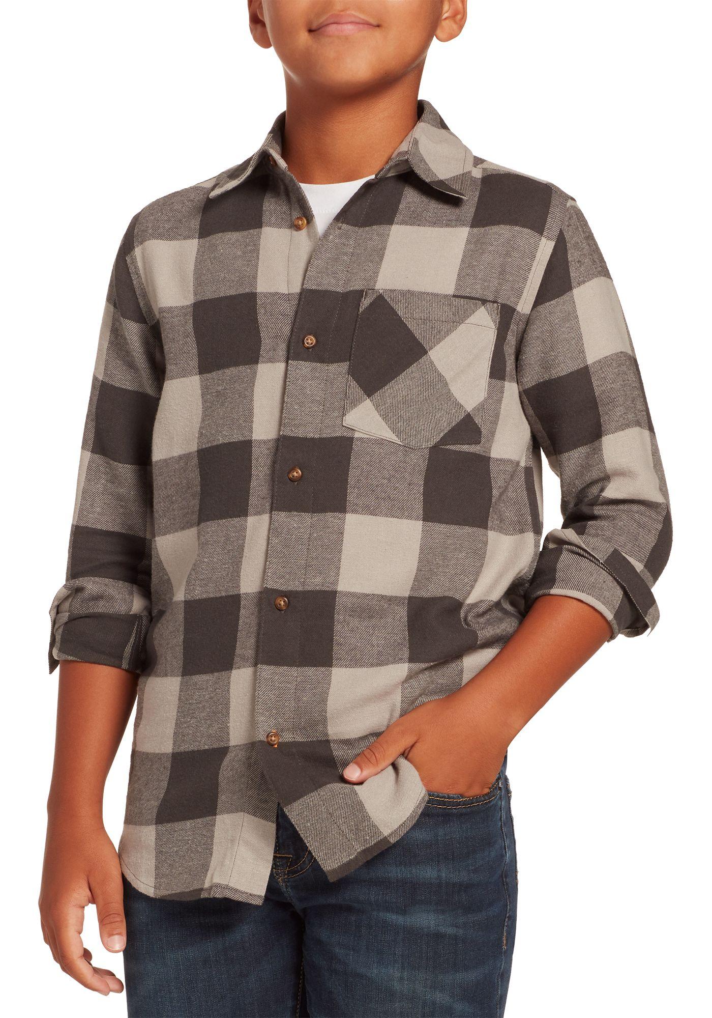 Field & Stream Boys' Classic Lightweight Flannel