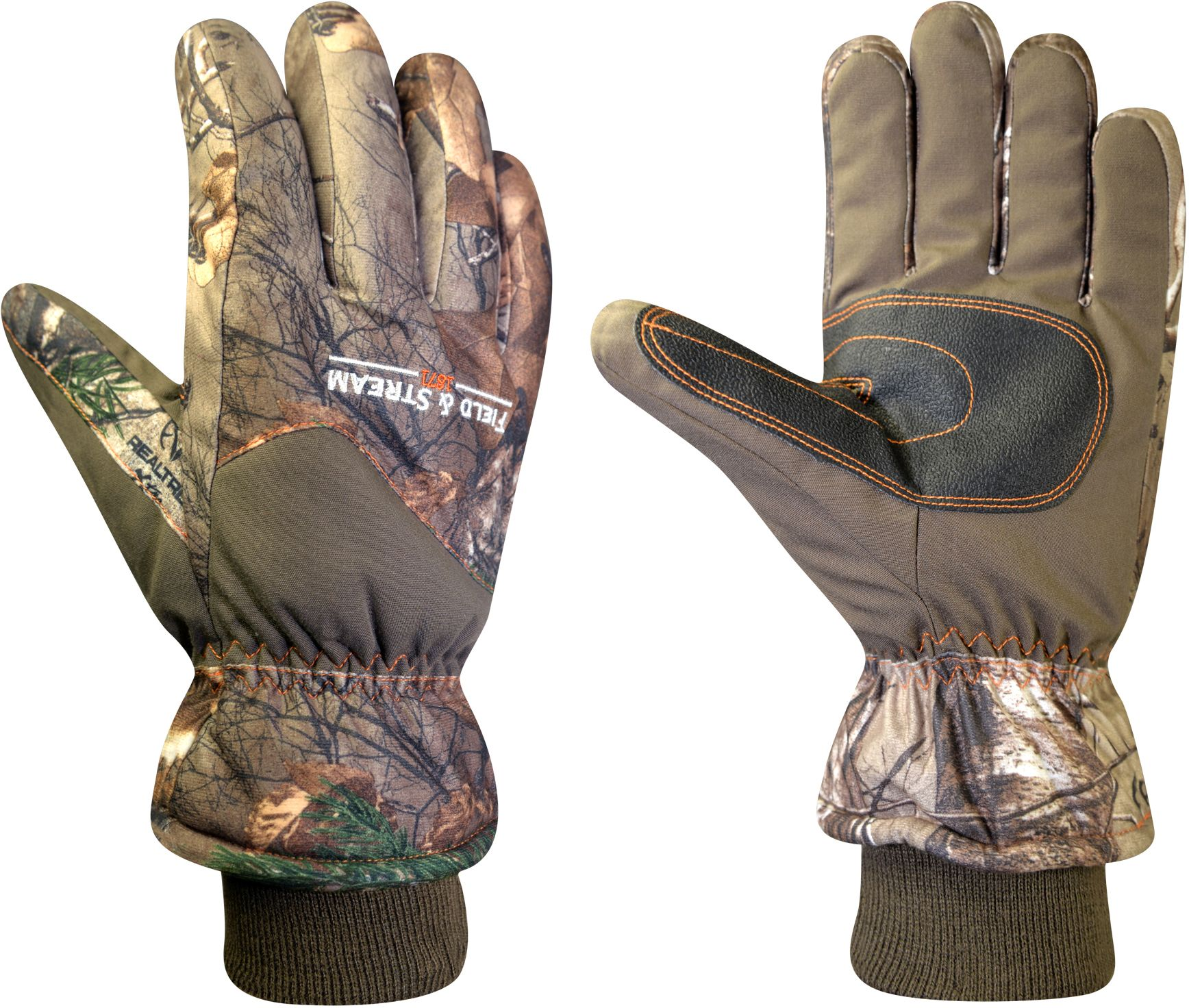Field & Stream Youth True Pursuit Insulated Hunting Gloves, Kids Unisex, Size: Small, Brown thumbnail