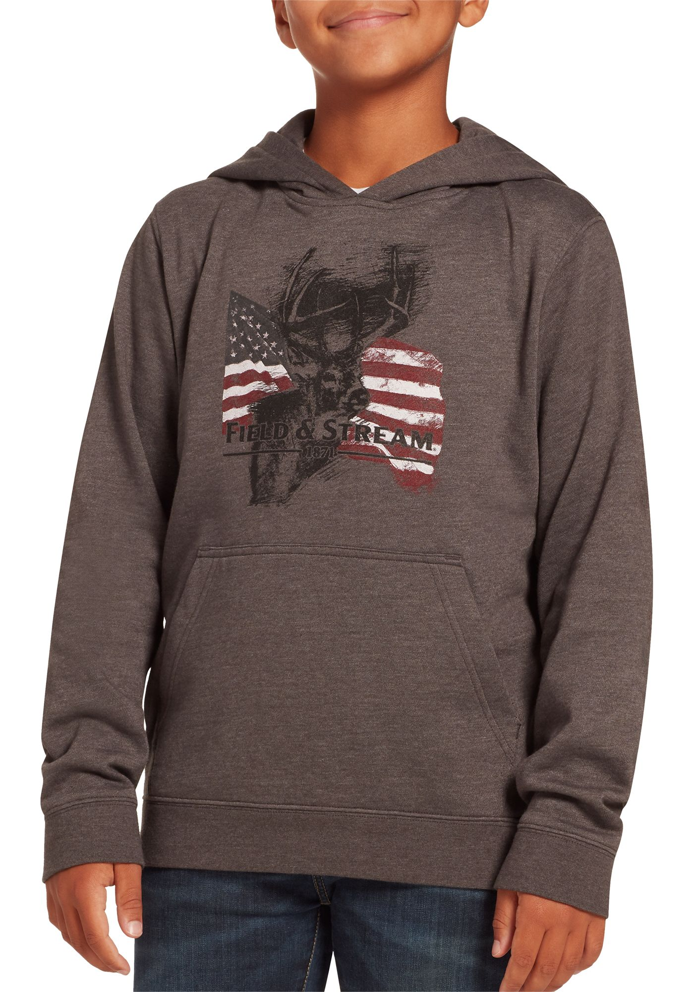 Field and Stream Boys' Graphic Hoodie
