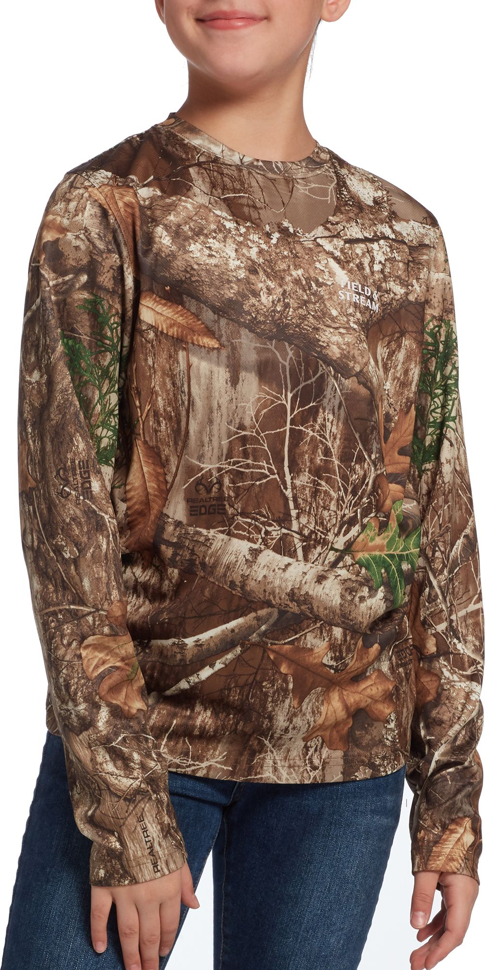Field & Stream Youth Perfect Tech Hunting T-Shirt, Size: Small, Multi thumbnail