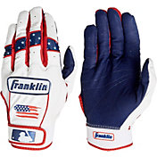 Franklin Adult CFX Pro Chrome Fourth of July Batting Gloves