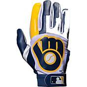 Franklin Milwaukee Brewers Adult Batting Gloves