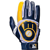 Franklin Milwaukee Brewers Youth Batting Gloves