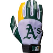 Franklin Oakland Athletics Youth Batting Gloves