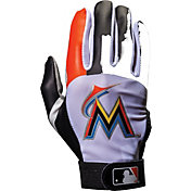 Franklin Miami Marlins Adult Batting Gloves