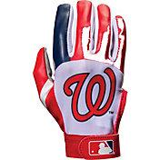 Franklin Washington Nationals Adult Batting Gloves