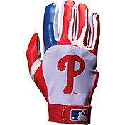 Franklin Philadelphia Phillies Adult Batting Gloves