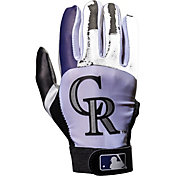 Franklin Colorado Rockies Youth Batting Gloves