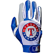Franklin Texas Rangers Adult Batting Gloves