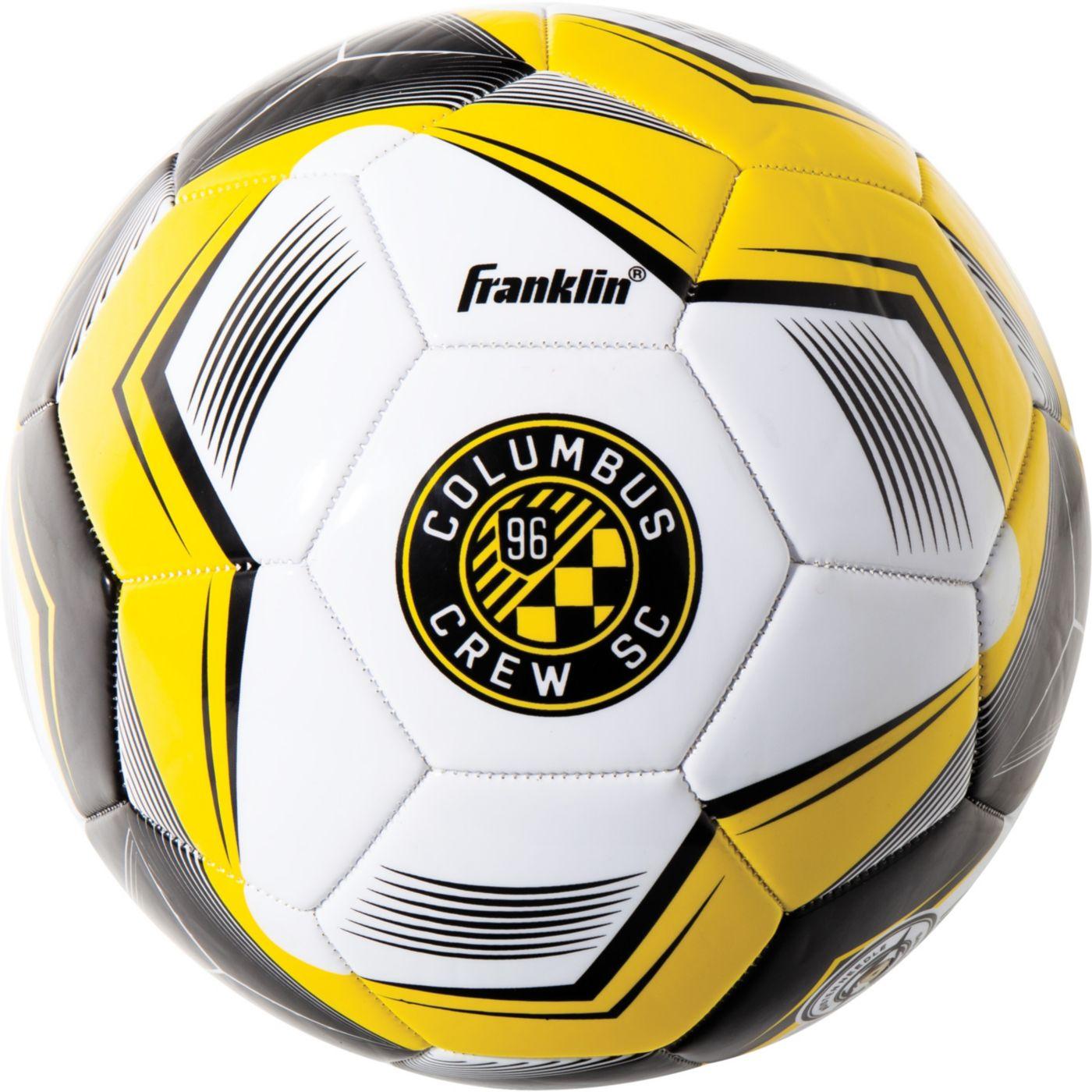 Franklin Columbus Crew Size 5 Soccer Ball