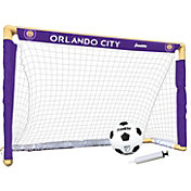 Franklin Orlando City Indoor Mini Soccer Goal Set
