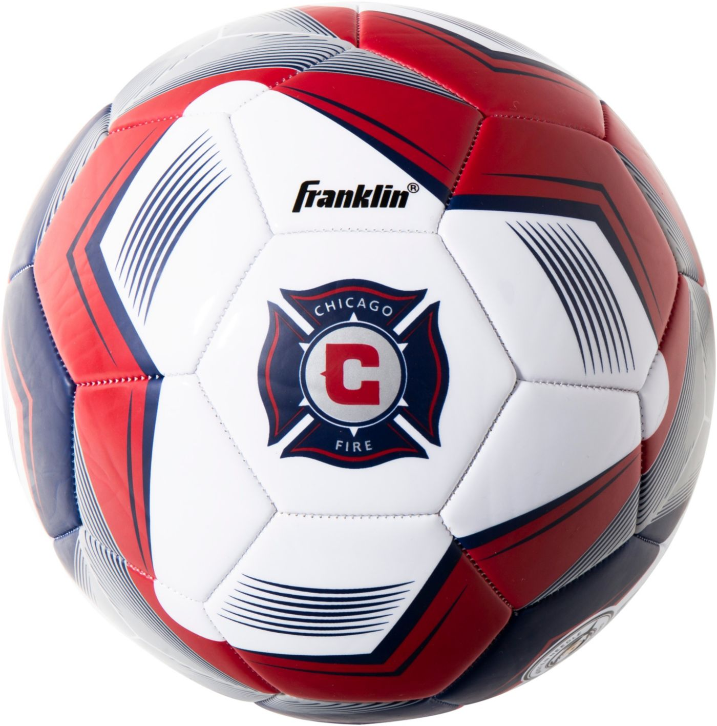 Franklin Chicago Fire Size 5 Soccer Ball