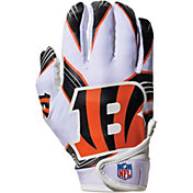 Franklin Cincinnati Bengals Youth Receiver Gloves