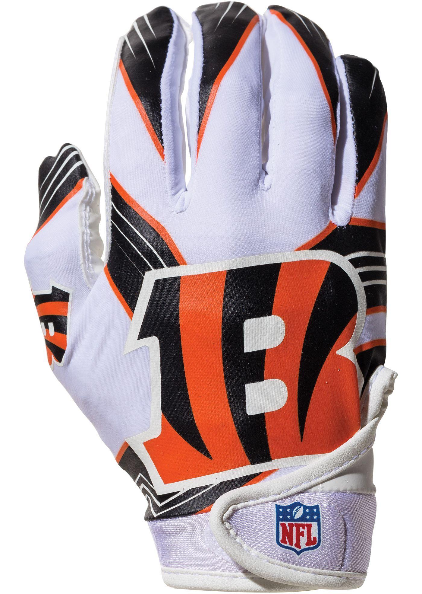 Franklin Cincinnati Bengals Youth Receiver Gloves