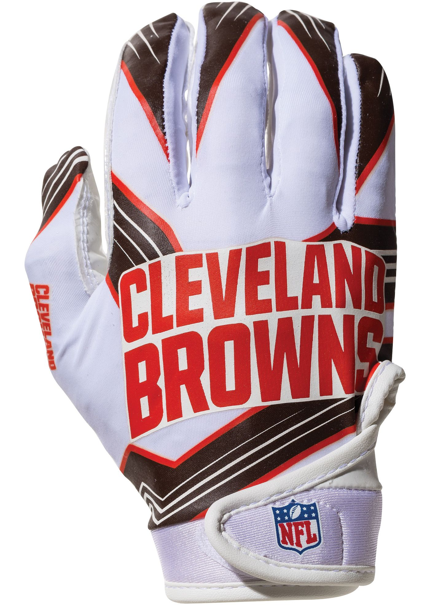 Franklin Cleveland Browns Youth Receiver Gloves