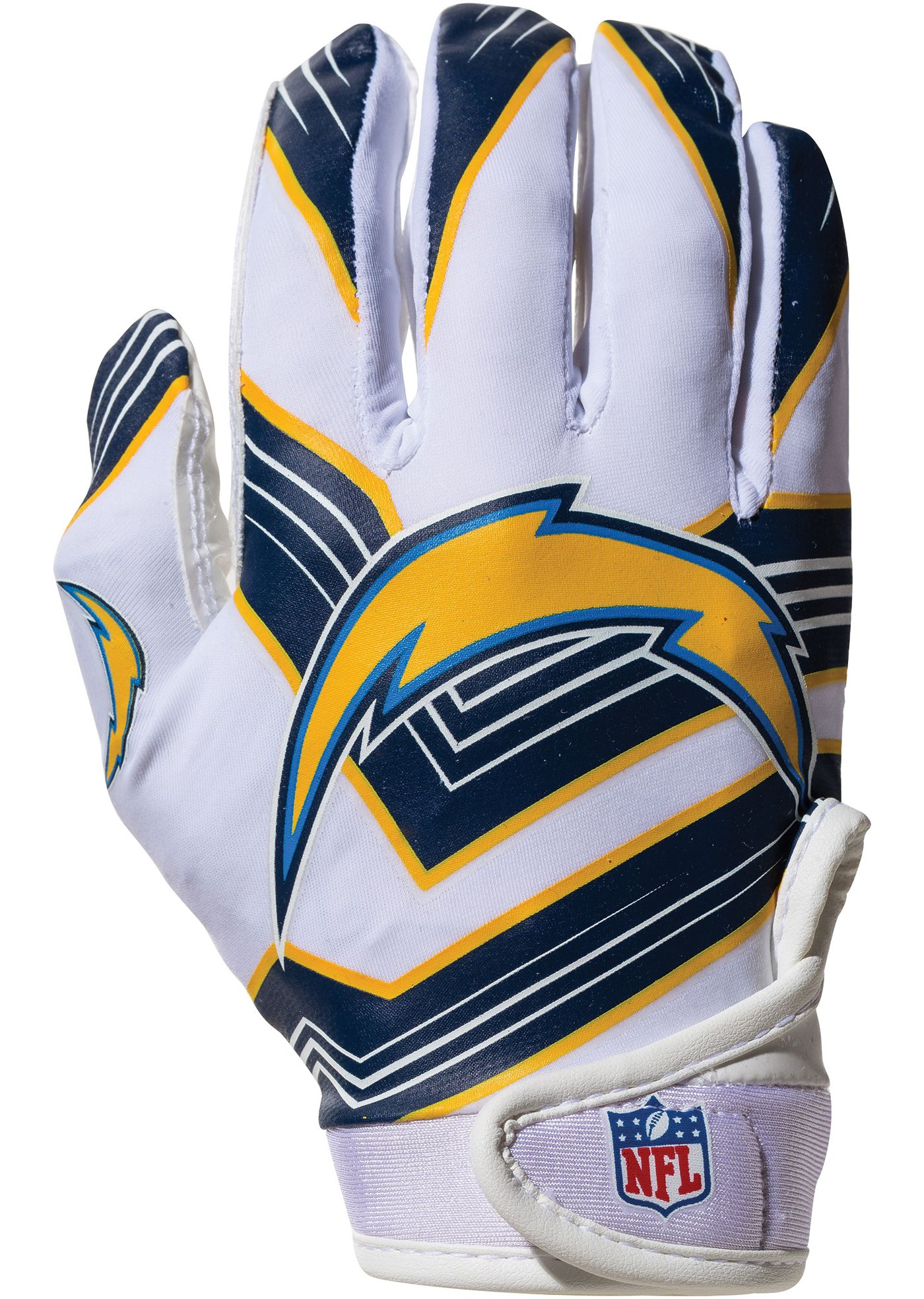 Franklin Los Angeles Chargers Youth Receiver Gloves