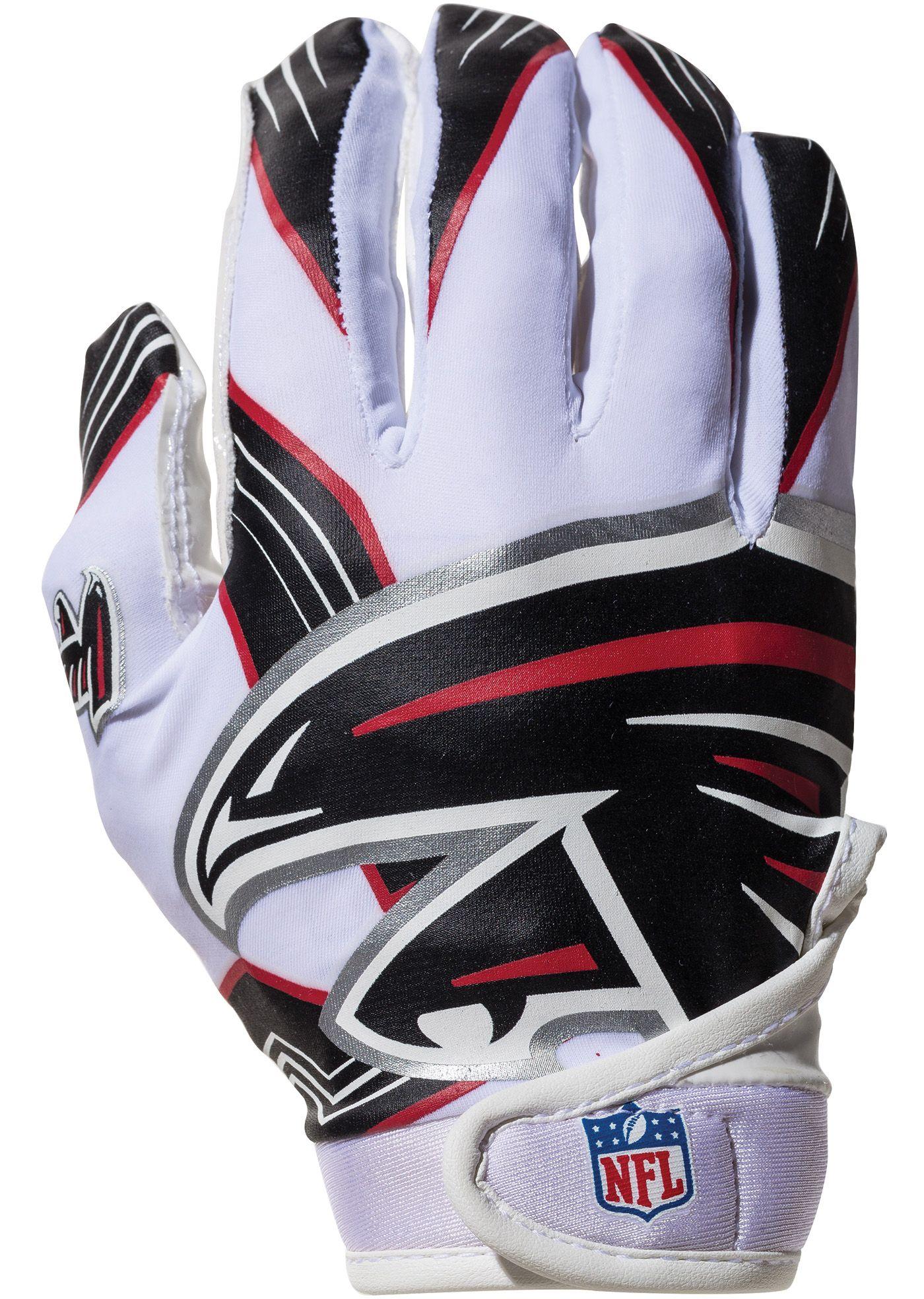 Franklin Atlanta Falcons Youth Receiver Gloves