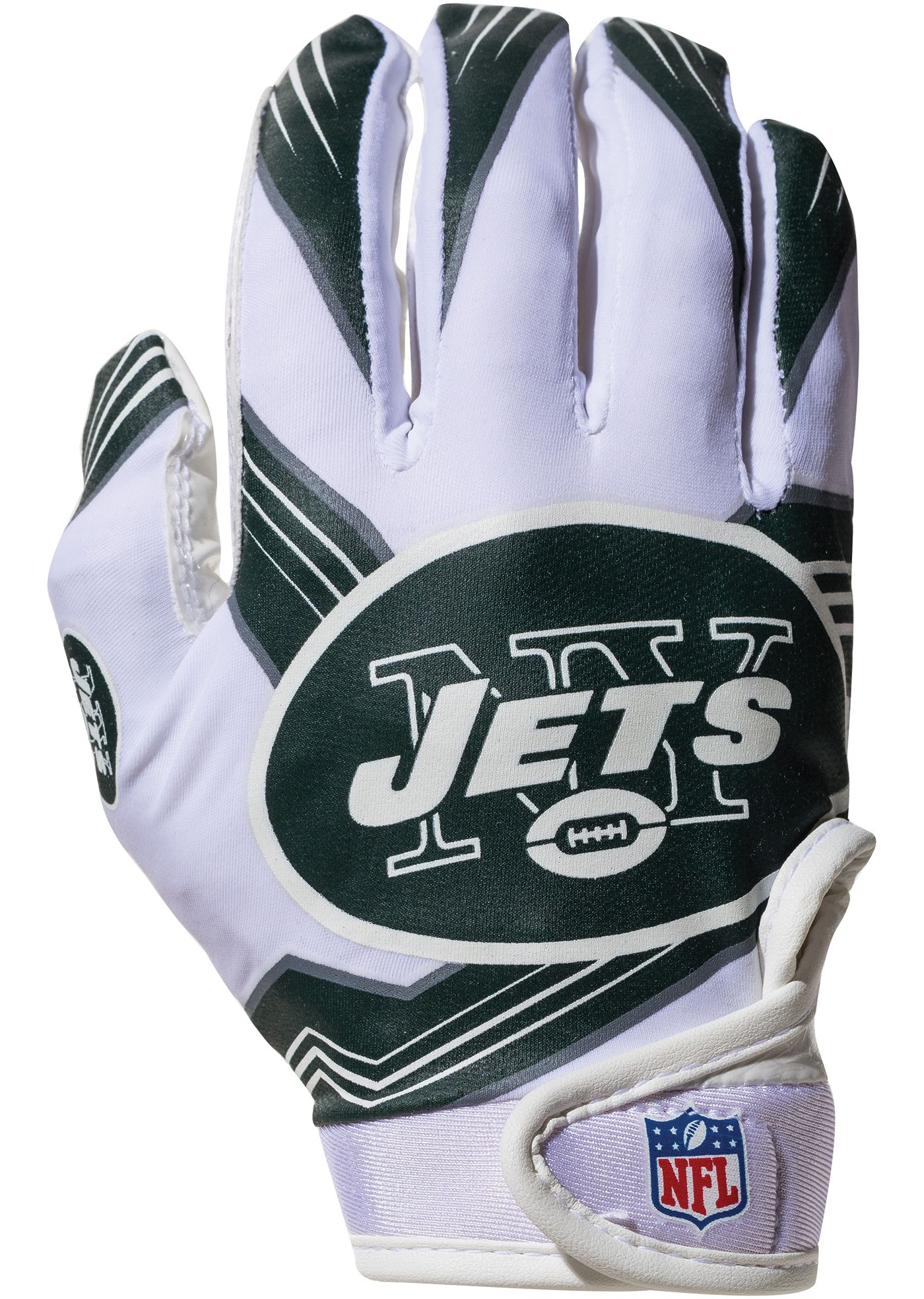 Franklin New York Jets Youth Receiver Gloves