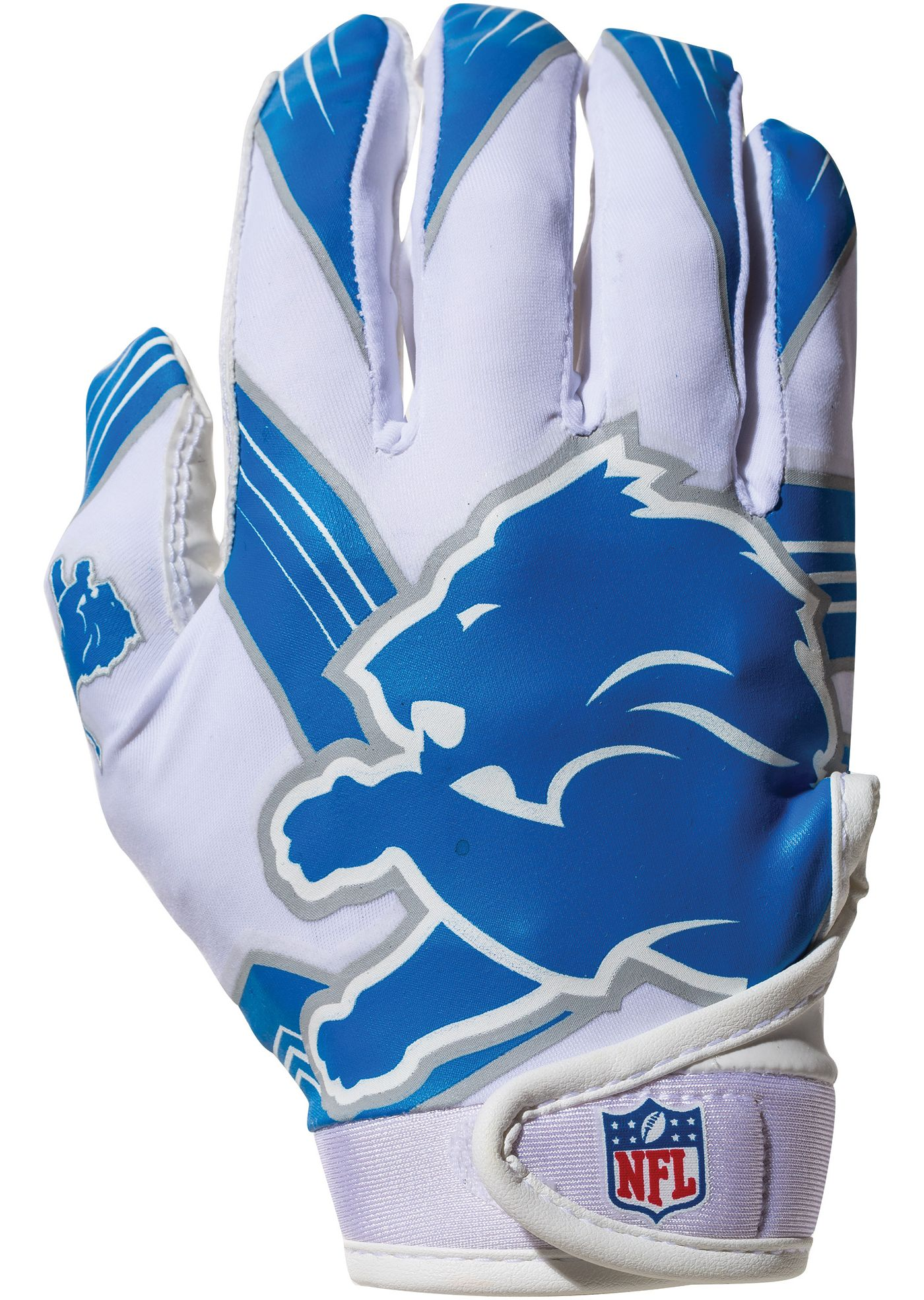 Franklin Detroit Lions Youth Receiver Gloves