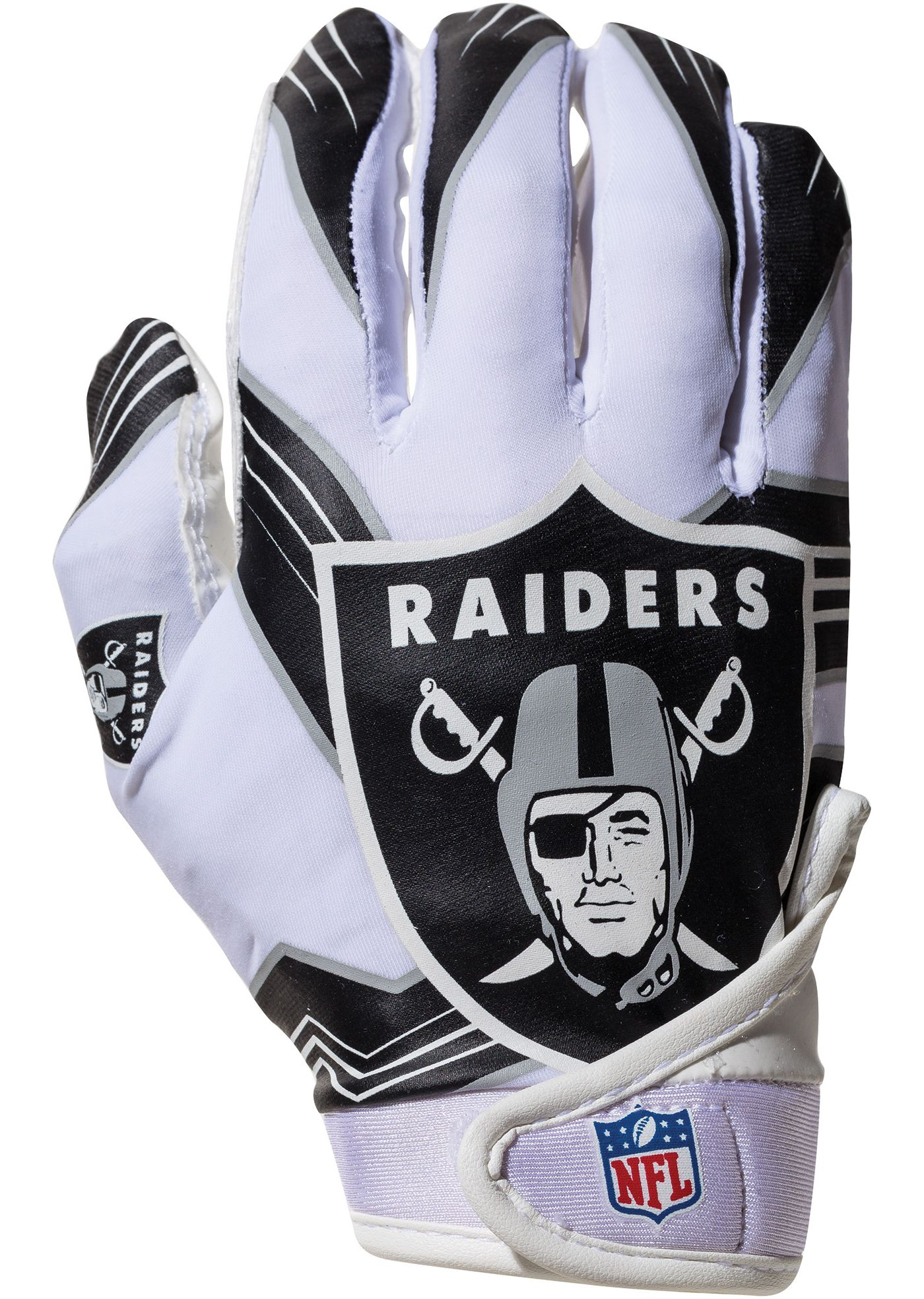 Franklin Oakland Raiders Youth Receiver Gloves