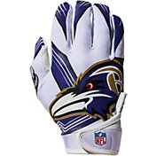 Franklin Baltimore Ravens Youth Receiver Gloves