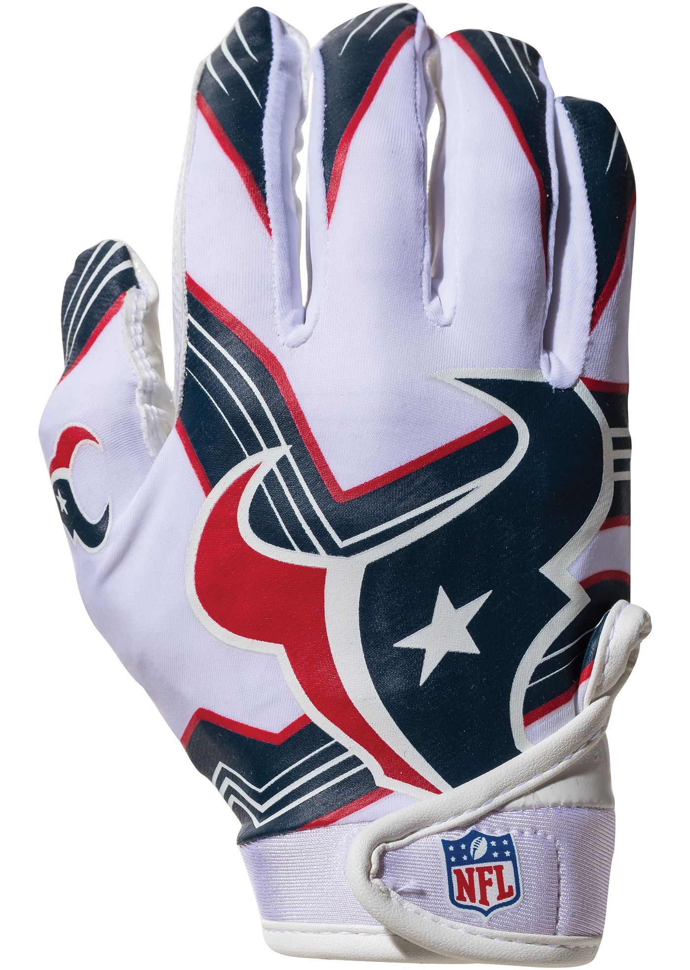 Franklin Houston Texans Youth Receiver Gloves