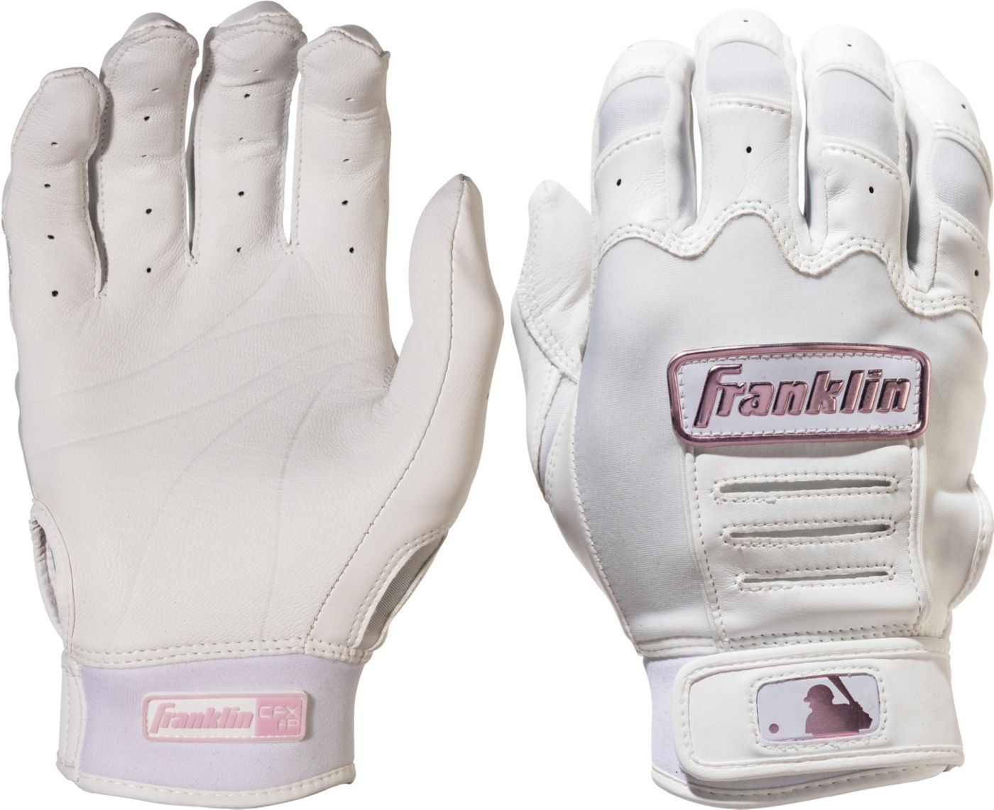 Franklin Women's CFX Pro Chrome Series Fastpitch Batting Gloves