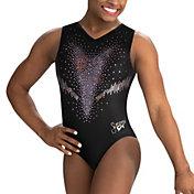 GK Elite Girl's Simone Biles Replica Tank Gymnastics Leotard