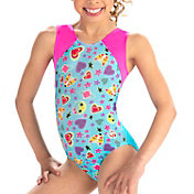 GK Elite Youth Foxy Fun Gymnastics Leotard