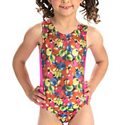 GK Elite Youth Gumball Craze Gymnastics Leotard
