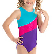 GK Elite Youth Lucky Swirl Gymnastics Leotard