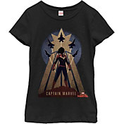 Fifth Sun Girls' Marvel Deco Graphic Tee