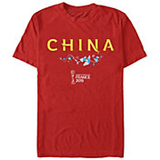 Fifth Sun Men's 2019 Women's FIFA World Cup China Graphic Red T-Shirt
