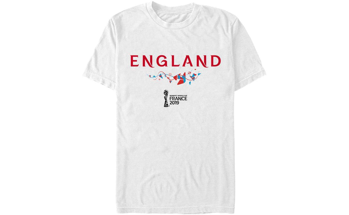Fifth Sun Men's 2019 Women's FIFA World Cup England Graphic White T-Shirt
