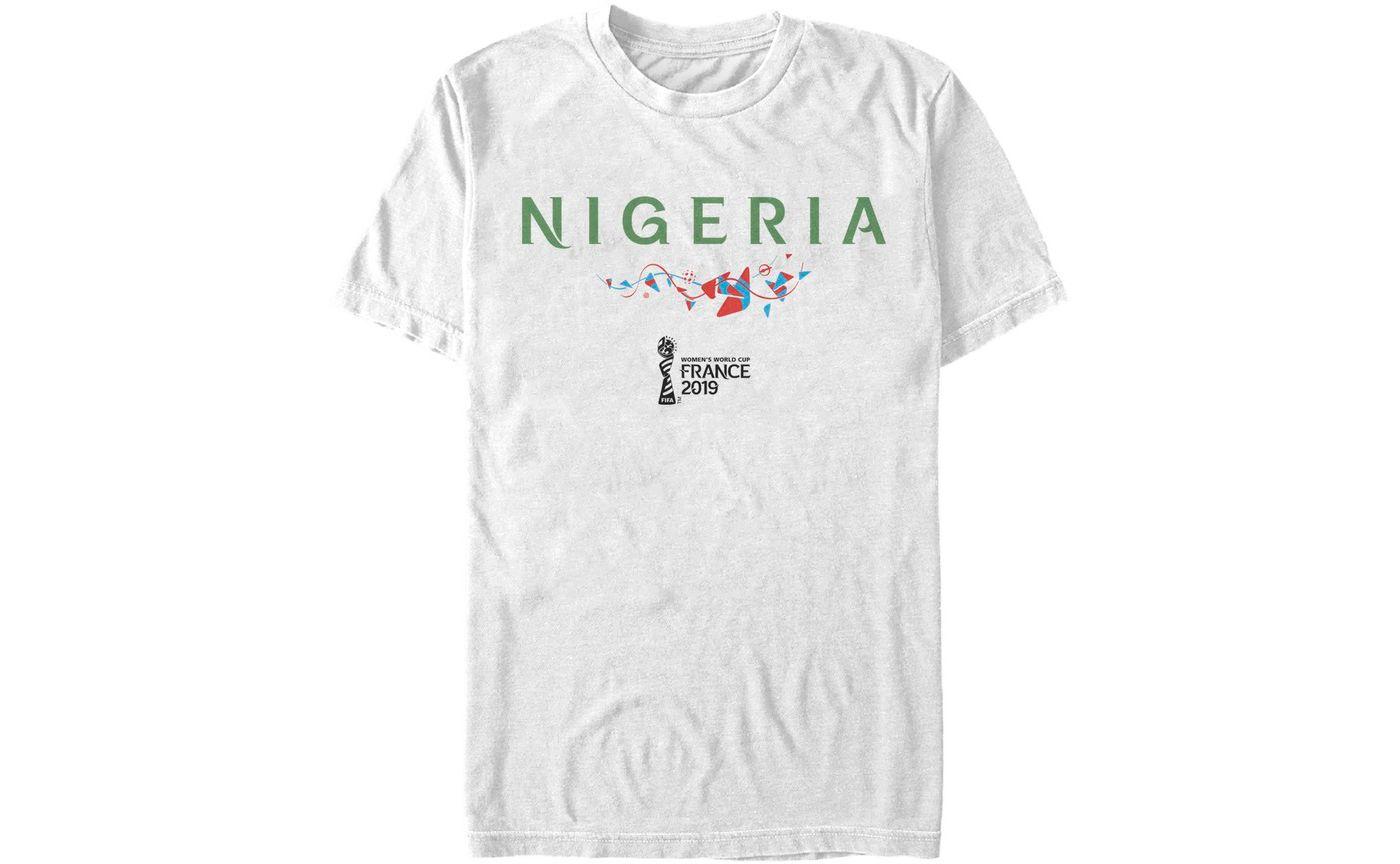 Fifth Sun Men's 2019 Women's FIFA World Cup Nigeria Graphic White T-Shirt