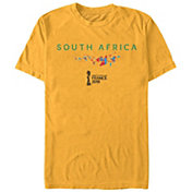 Fifth Sun Men's 2019 Women's FIFA World Cup South Africa Graphic Yellow T-Shirt