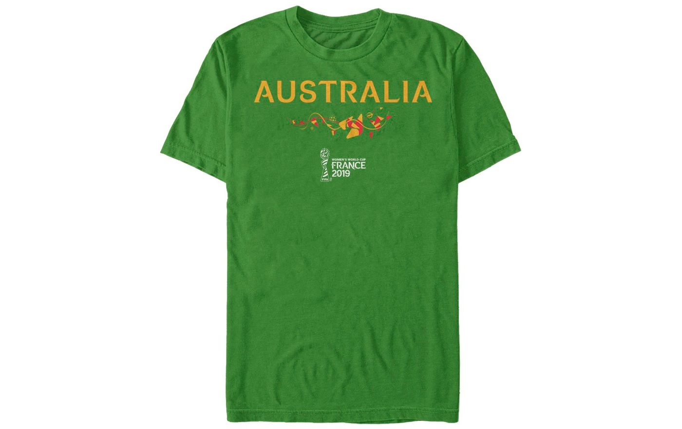 Fifth Sun Men's 2019 Women's FIFA World Cup Australia Graphic Green T-Shirt