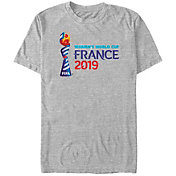 Fifth Sun Men's 2019 Women's FIFA World Cup Event Logo Grey T-Shirt
