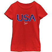 Fifth Sun Youth 2019 Women's FIFA World Cup USA Soccer Ribbon Red T-Shirt